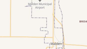Malden, Missouri map