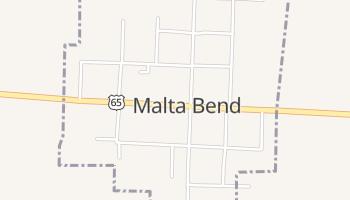 Malta Bend, Missouri map