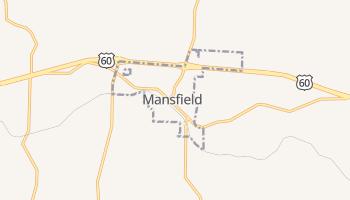 Mansfield, Missouri map