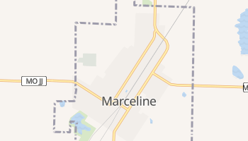 Marceline, Missouri map