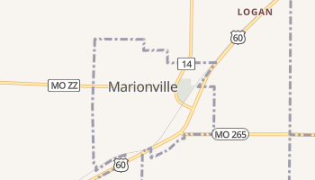 Marionville, Missouri map