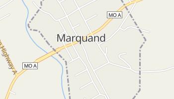 Marquand, Missouri map