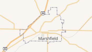 Marshfield, Missouri map