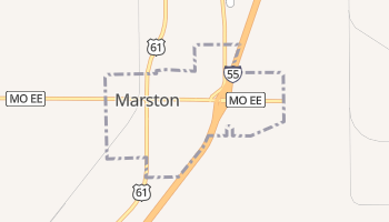 Marston, Missouri map