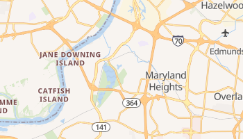 Maryland Heights, Missouri map
