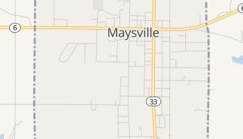 Maysville, Missouri map