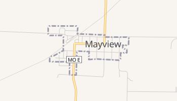 Mayview, Missouri map