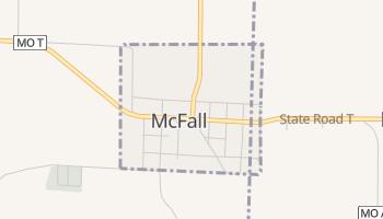 McFall, Missouri map