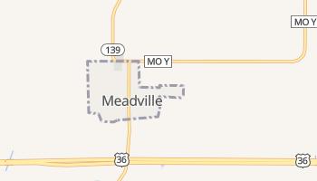 Meadville, Missouri map