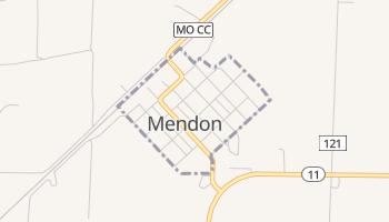 Mendon, Missouri map