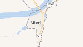 Miami, Missouri map