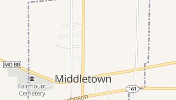 Middletown, Missouri map
