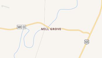 Mill Grove, Missouri map