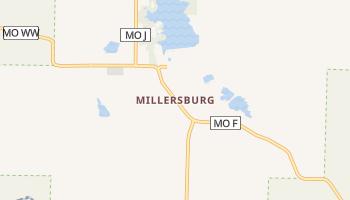 Millersburg, Missouri map