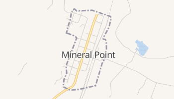 Mineral Point, Missouri map