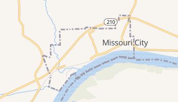 Missouri City, Missouri map