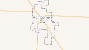 Montgomery City, Missouri map