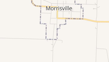 Morrisville, Missouri map