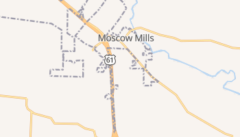 Moscow Mills, Missouri map