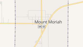 Mount Moriah, Missouri map