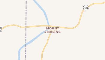 Mount Sterling, Missouri map