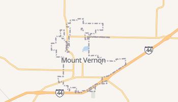 Mount Vernon, Missouri map