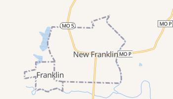 New Franklin, Missouri map