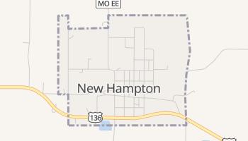New Hampton, Missouri map