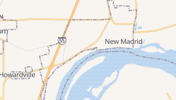 New Madrid, Missouri map
