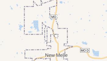 New Melle, Missouri map