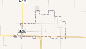 Newtonia, Missouri map