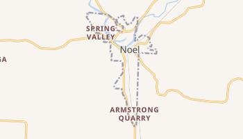 Noel, Missouri map