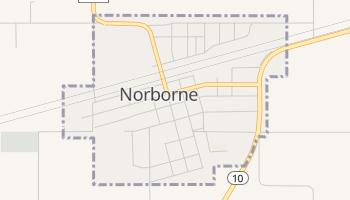 Norborne, Missouri map