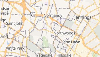 Normandy, Missouri map