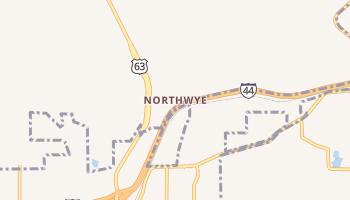 Northwye, Missouri map
