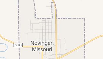 Novinger, Missouri map