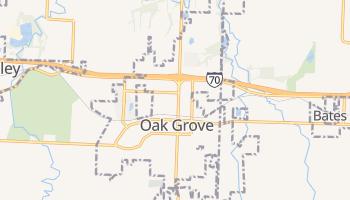Oak Grove, Missouri map