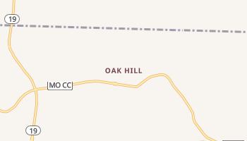Oak Hill, Missouri map