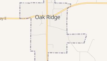 Oak Ridge, Missouri map