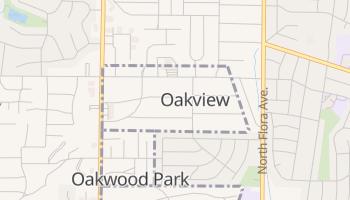 Oakview, Missouri map