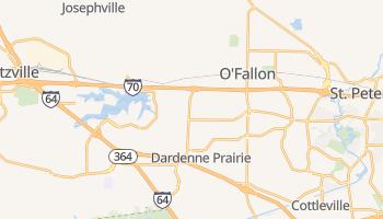 O'Fallon, Missouri map