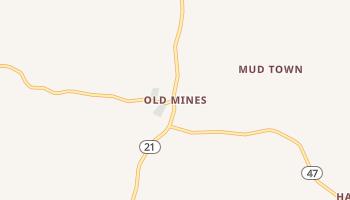 Old Mines, Missouri map