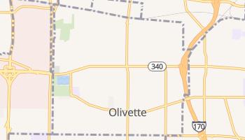 Olivette, Missouri map