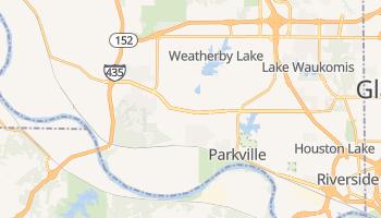 Parkville, Missouri map