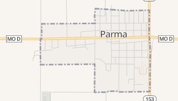 Parma, Missouri map