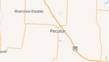 Peculiar, Missouri map