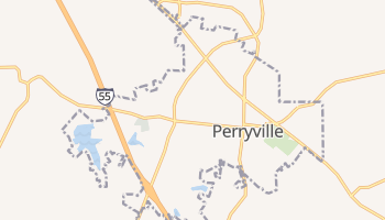 Perryville, Missouri map