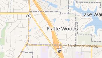 Platte Woods, Missouri map