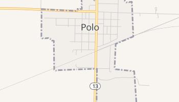 Polo, Missouri map