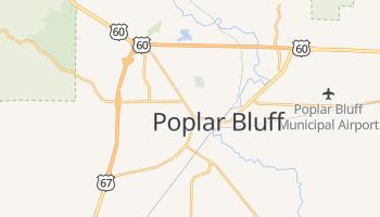 Poplar Bluff, Missouri map
